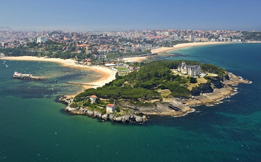 Santander desde aire
